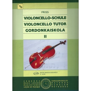 Antal Friss - Violoncelloschule Band2